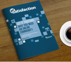 Rapport Get Satisfaction customer communities