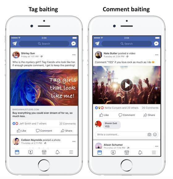 Facebook wordt strenger voor engagement bait